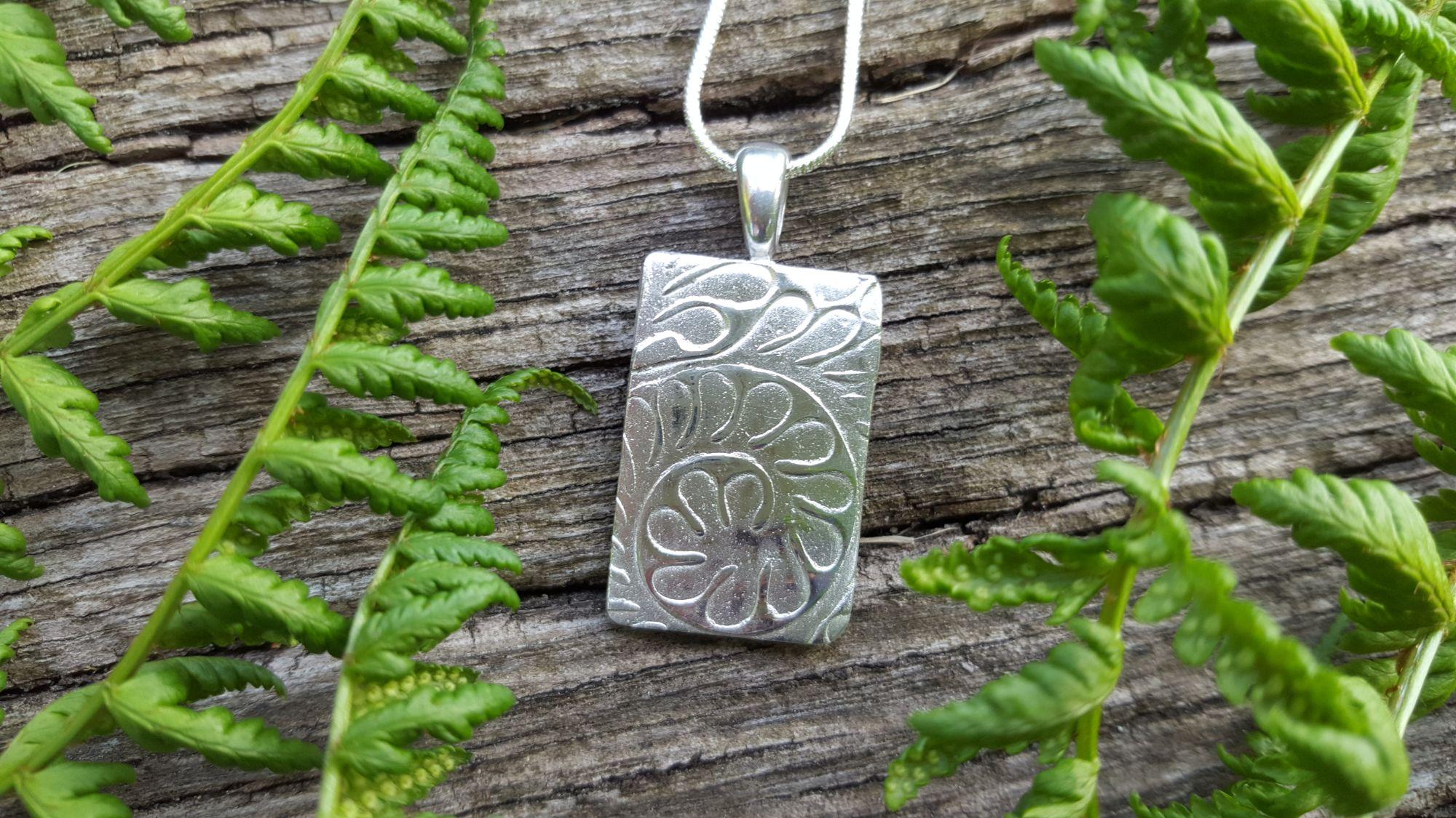 Silver Fern Pendant