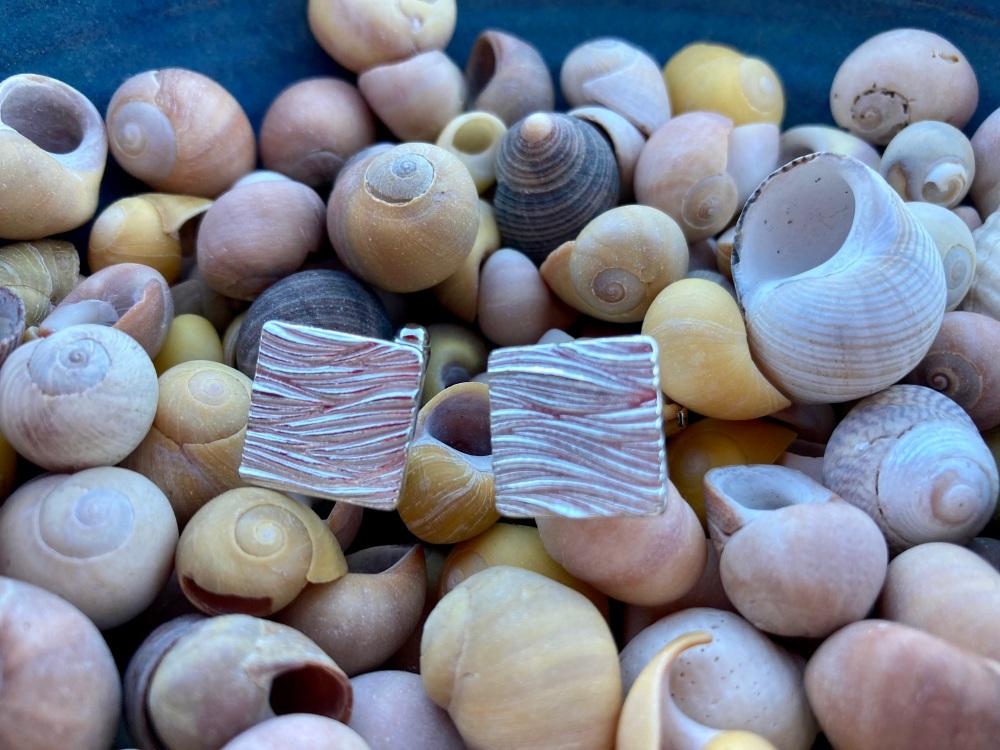 Fistral Bay Square Cufflinks