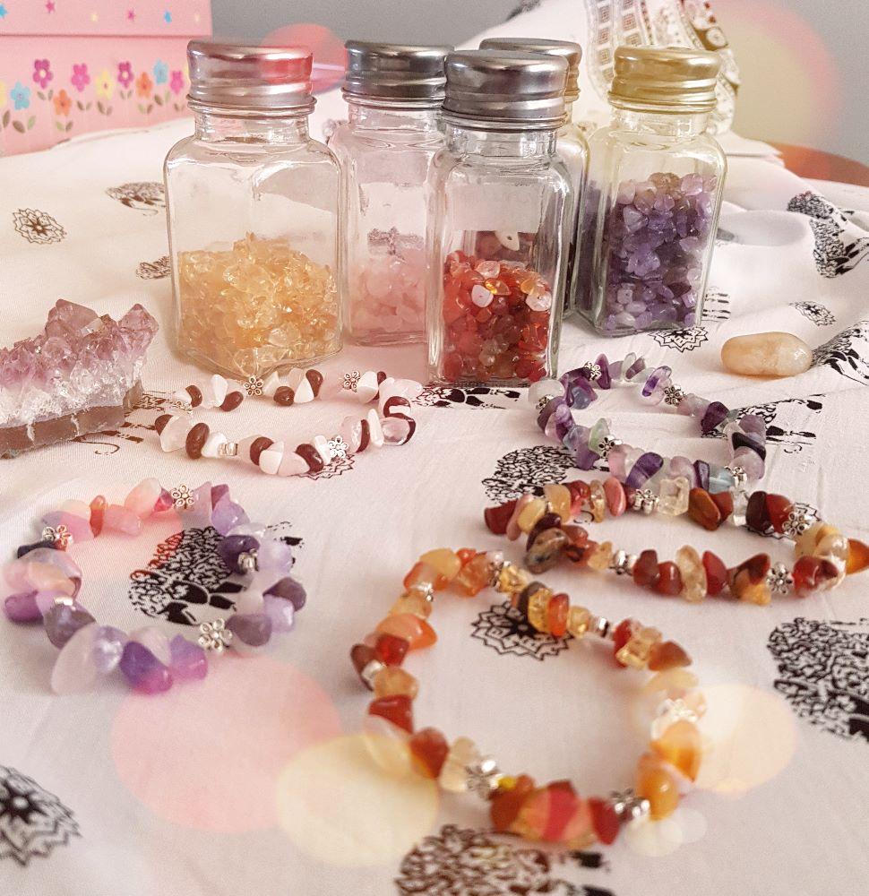 Crystal Birthstone Bracelets