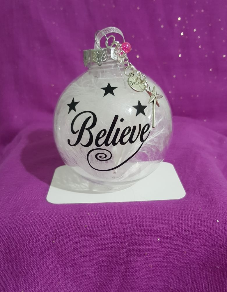 Keepsake and gift baubles