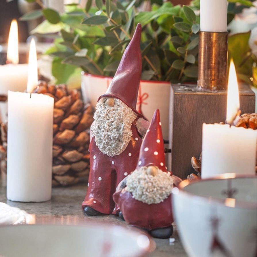 Naasgransgarden Santa Elmer And Max Ornaments