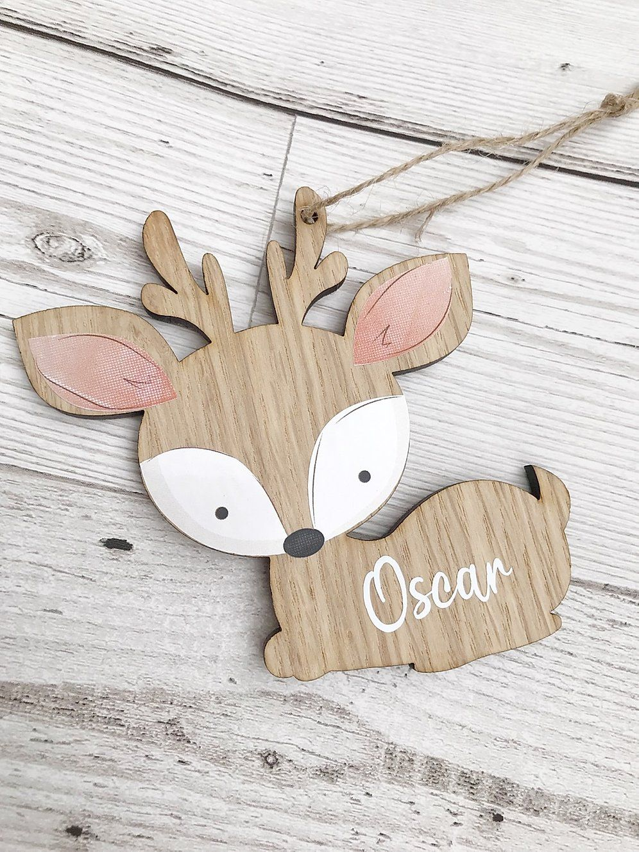 Personalised Woodland Deer