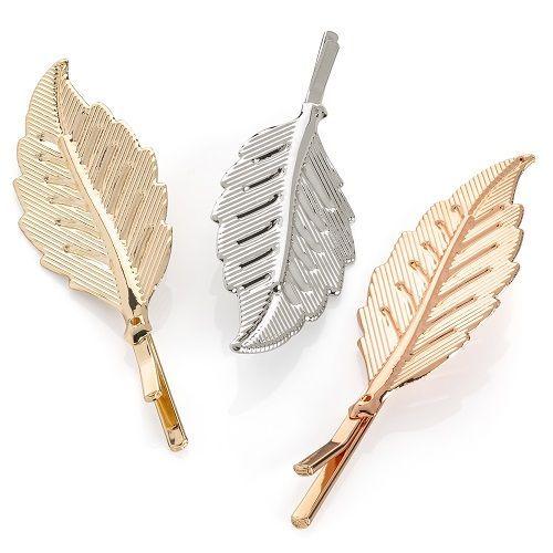 Three Leaf Design Hairclips