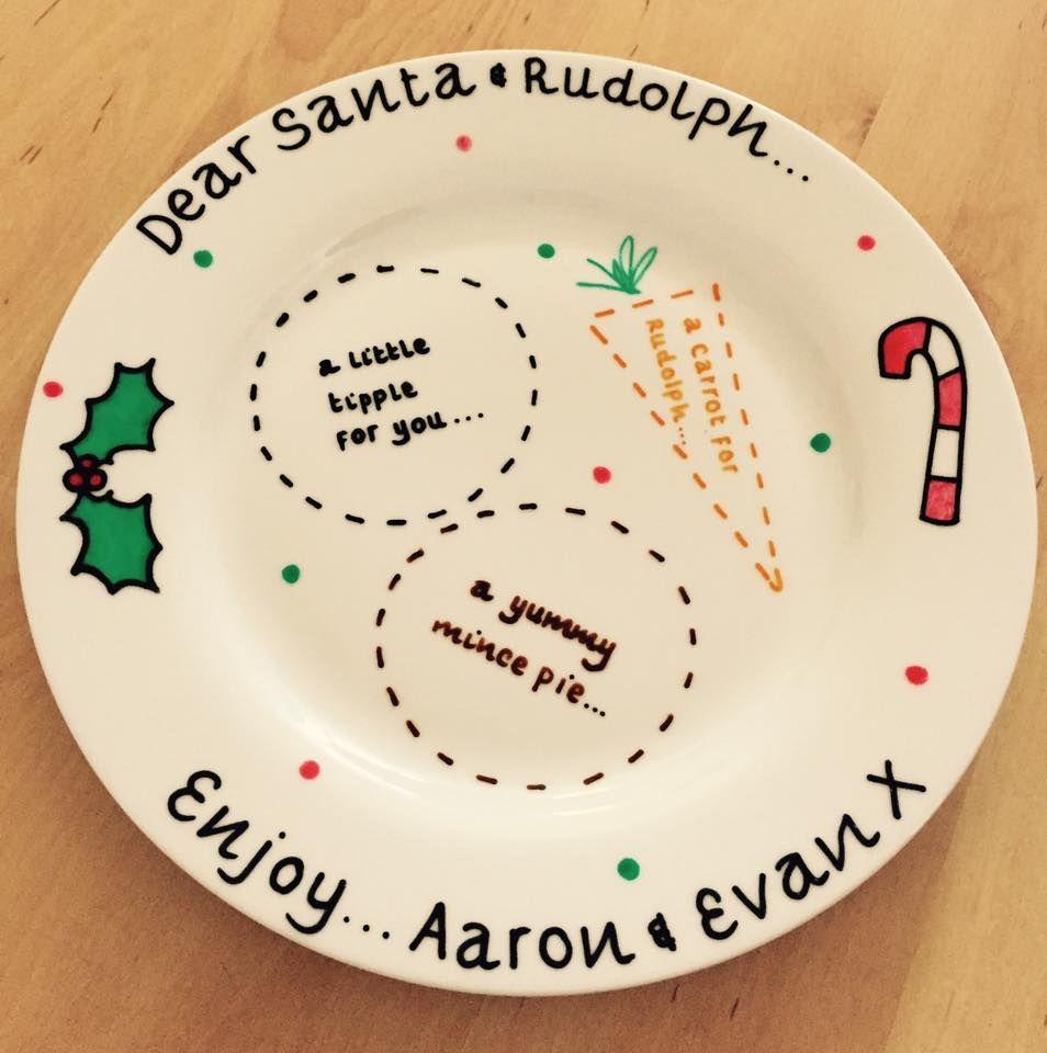 Personalised Christmas Plate