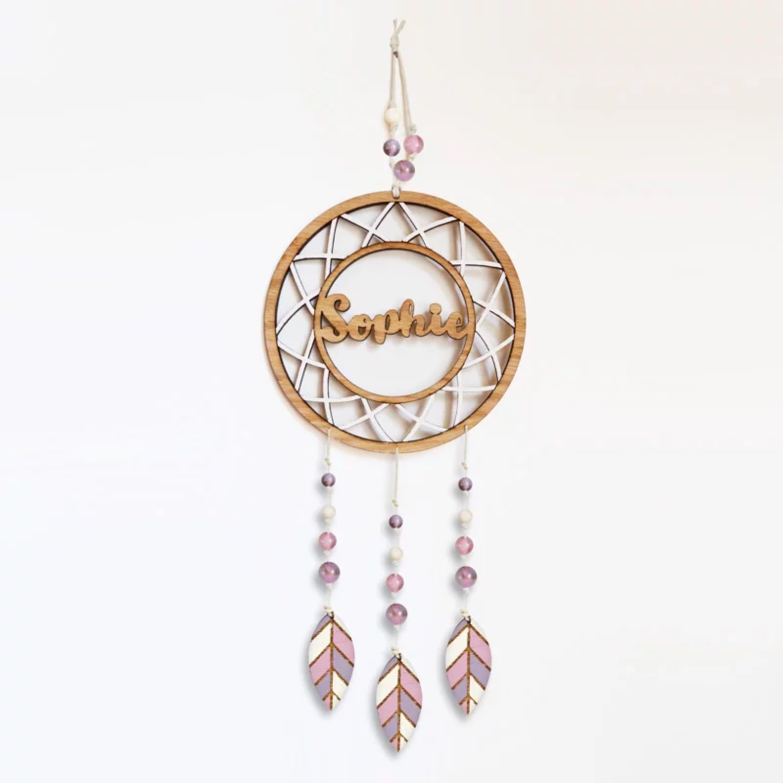 Personalised Wooden Dreamcatcher