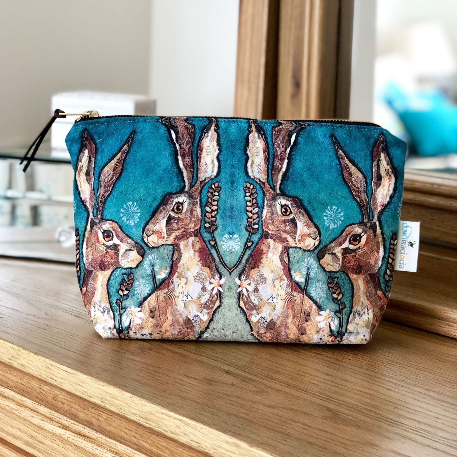 "Hare ""Together"" Make Up Bag"