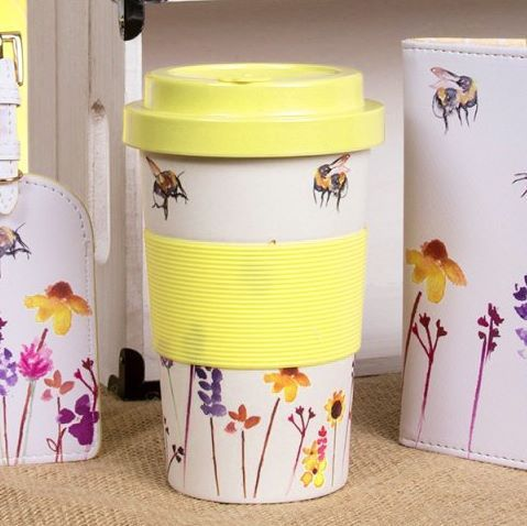 Busy Bees Re-usable Travel Coffee Mug