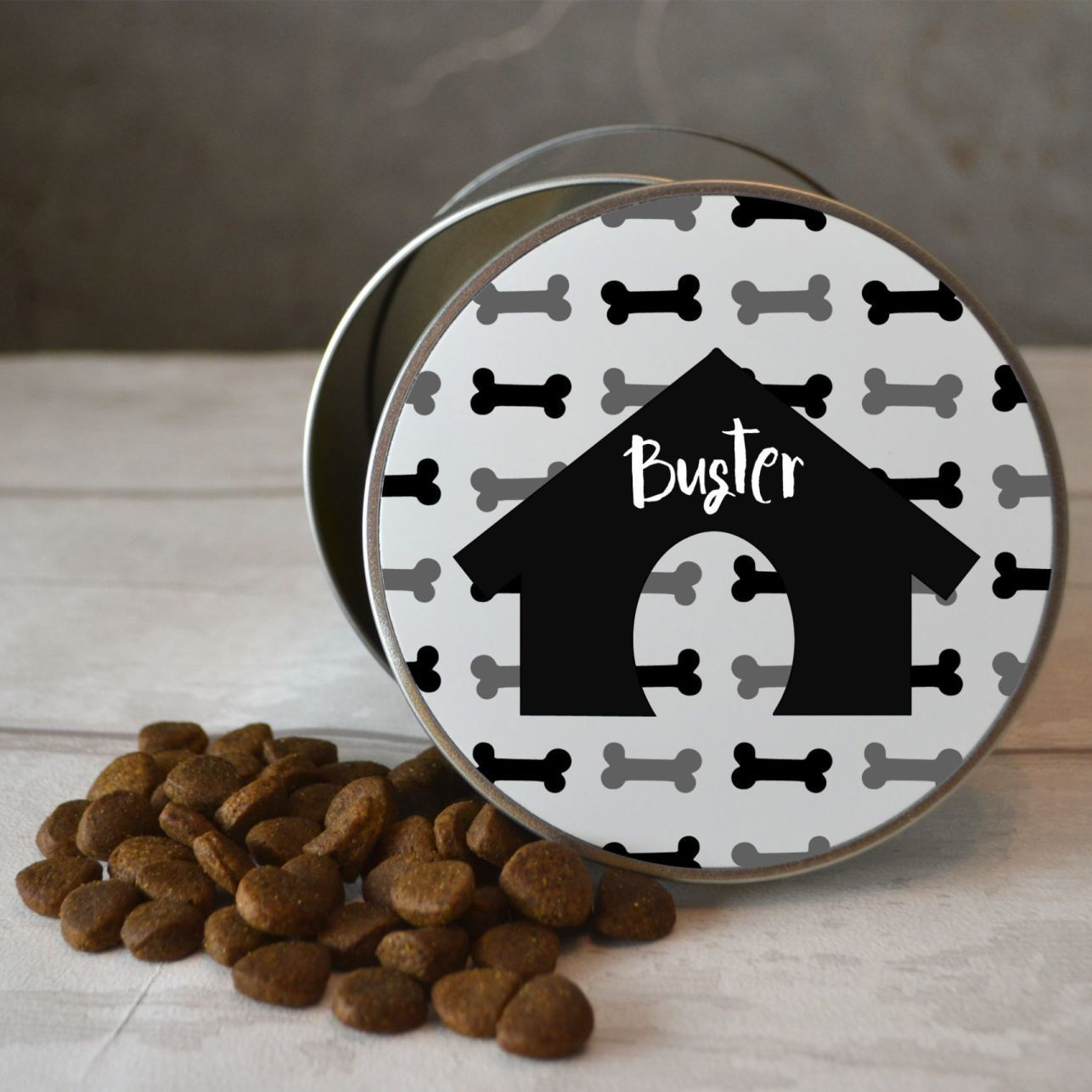 Personalised Dog Bone Treat Tin