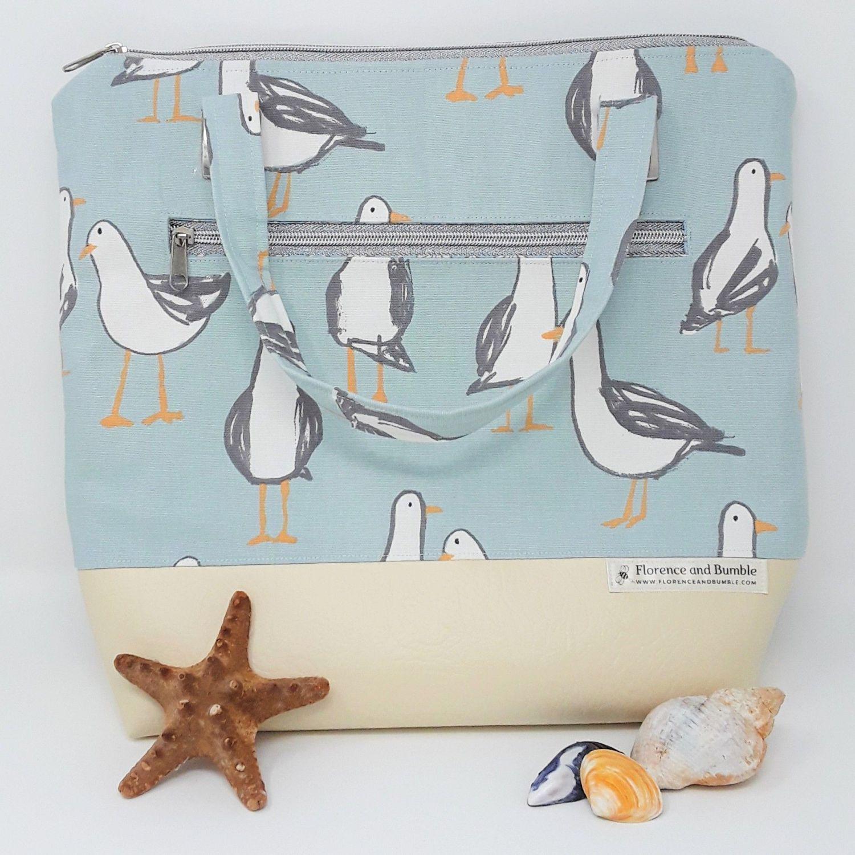 Handmade Seagull Handbag