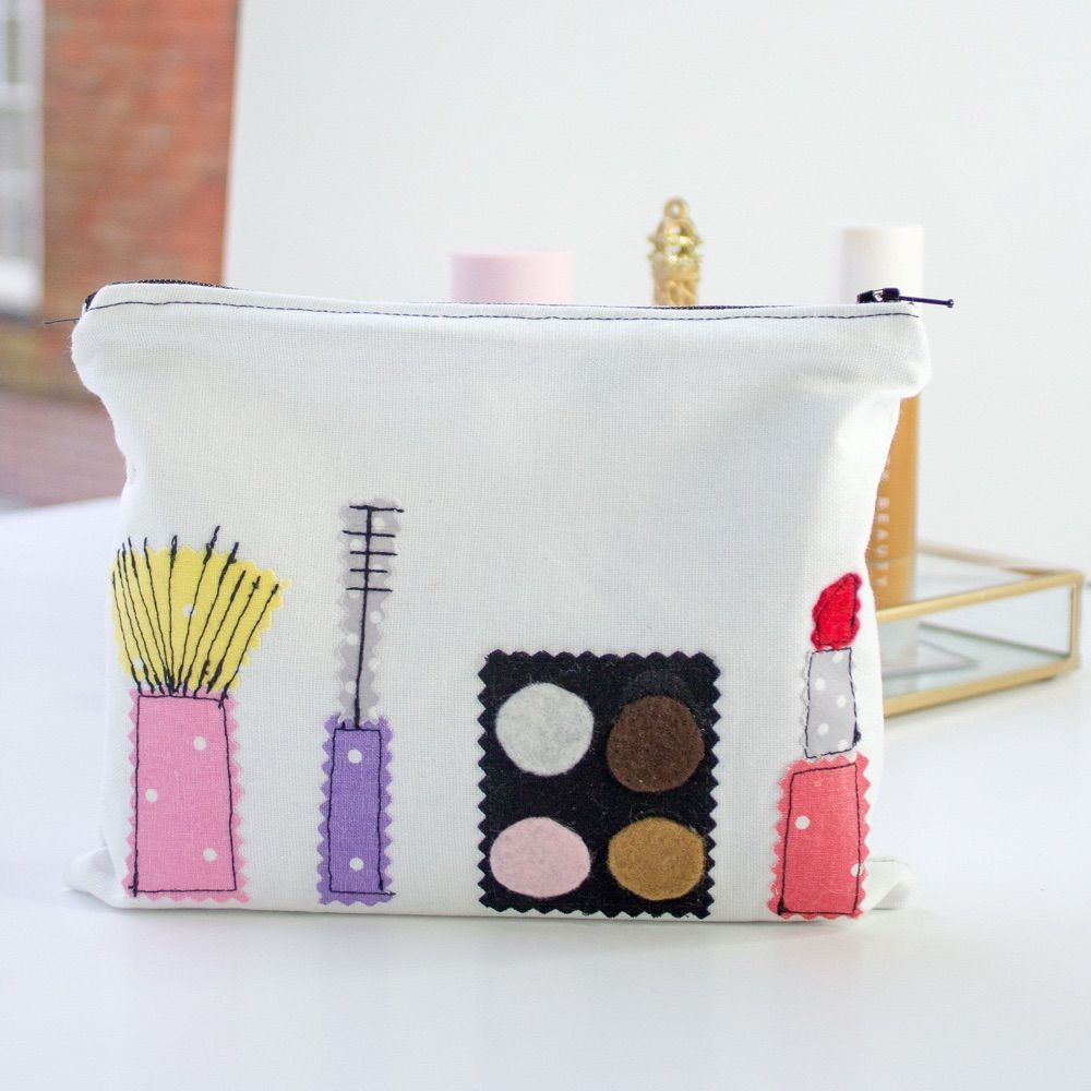 Makeup and Brush Bag