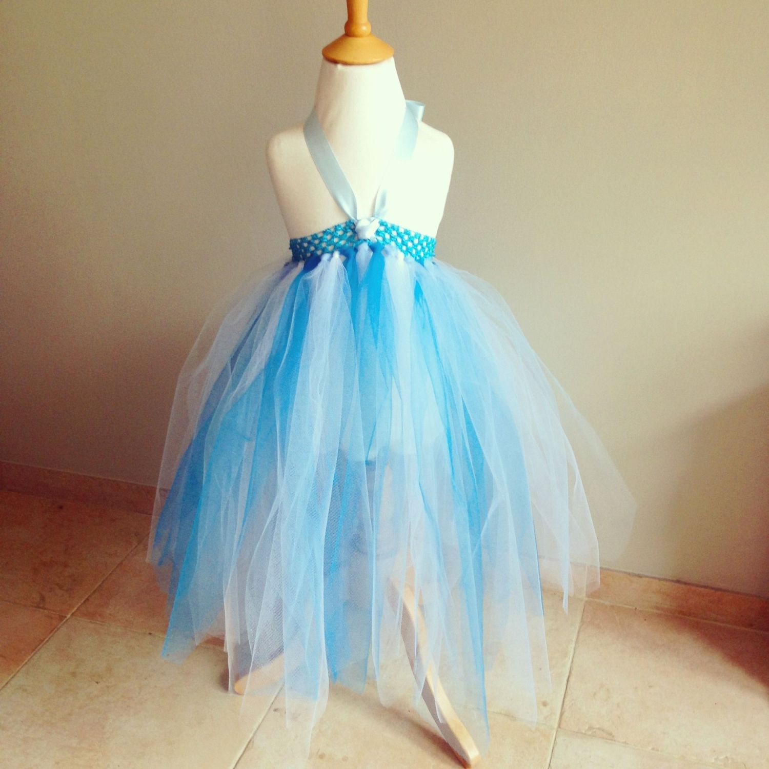 Frozen Inspired Blue and White Tutu