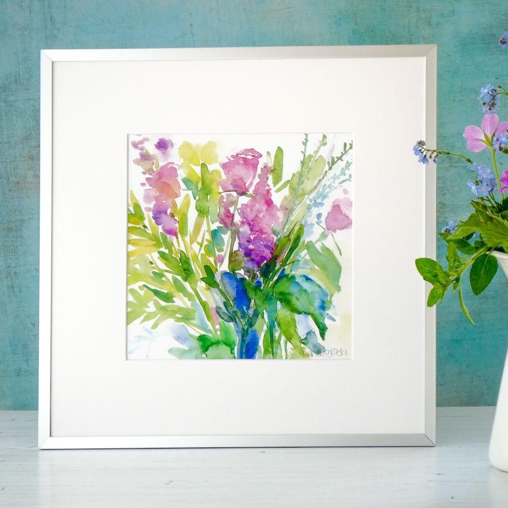 Summer Bouquet Print