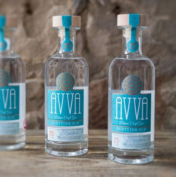 3 Bottles of Avva Scottish GIn
