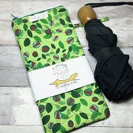 Green Vine Brolly Bag from the Craftee Fox