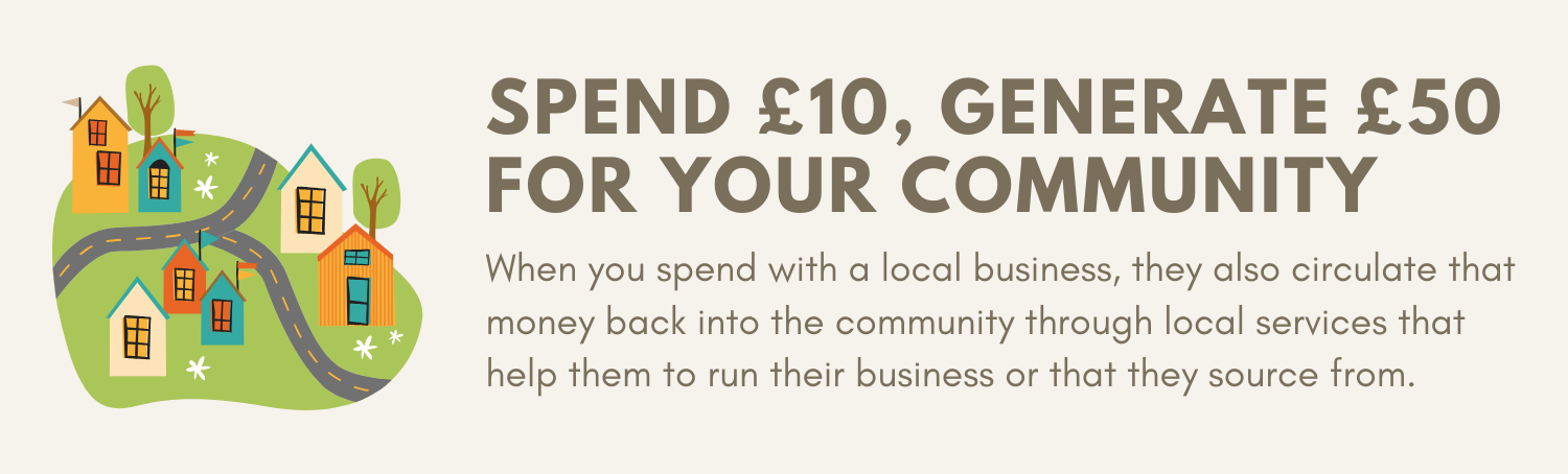 Spend £10, Generate £50 for Your Community