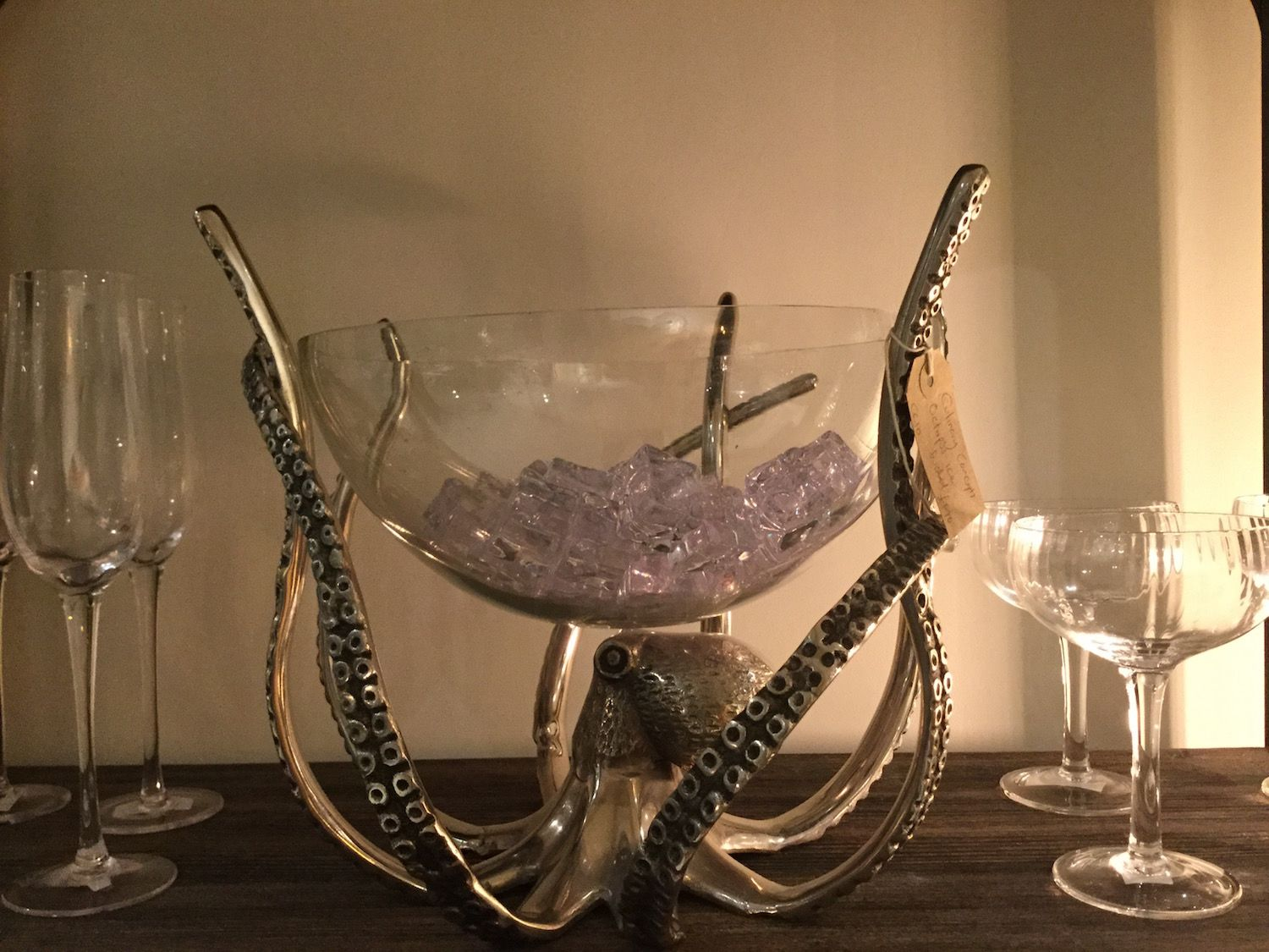 octopus wine cooler
