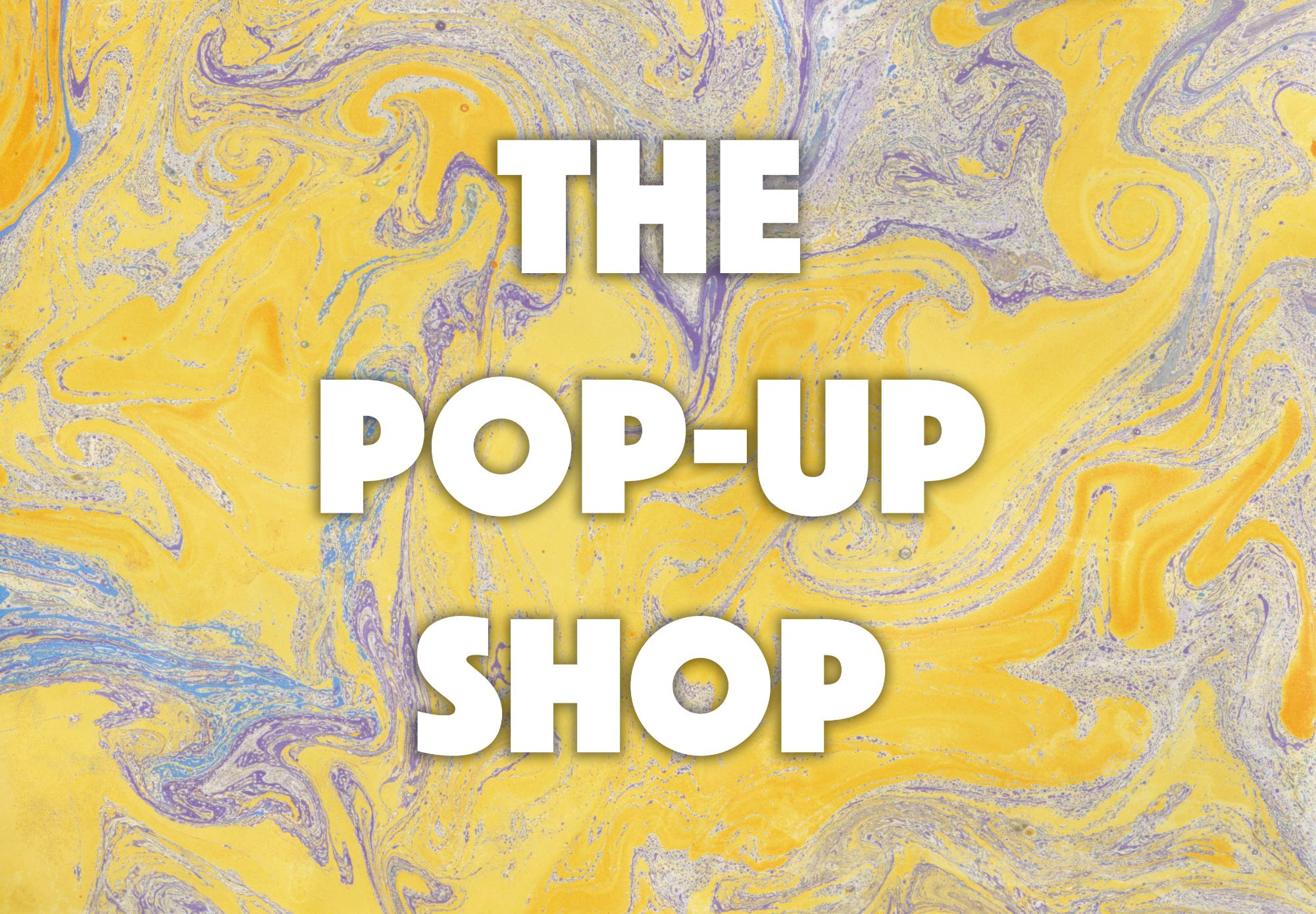 The Pop-Up Shop, logo designed for Off/Beat by Rachel Anderson 2019