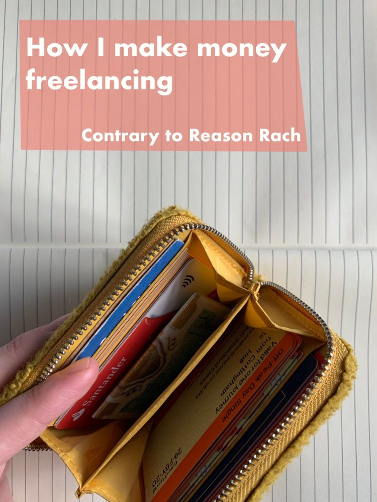 How I make money freelancing