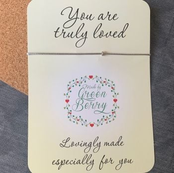 You Are Truly Loved Wish Bracelet