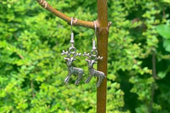 Deer Earrings