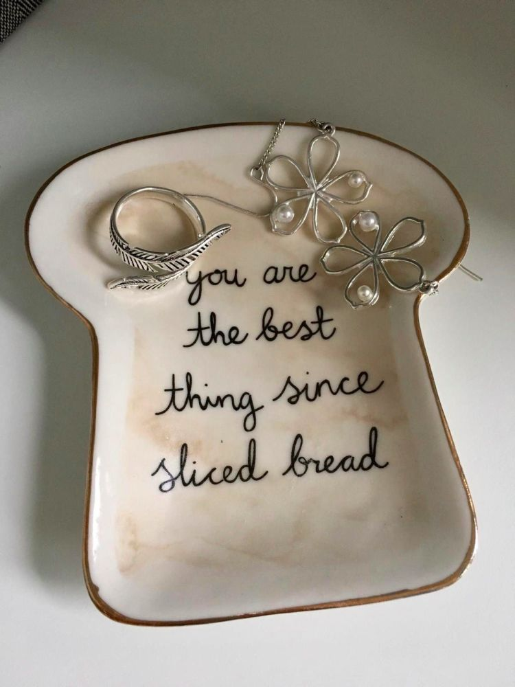 Bread Trinket Dish