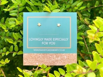 Tiny Star Sterling Silver Studs