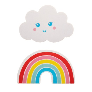 Rainbow & Cloud Nail File