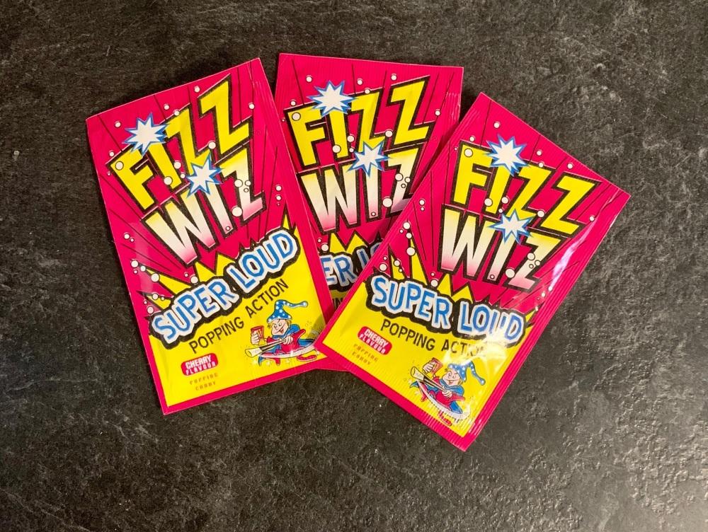 Fizz Wiz Popping Candy - Cherry Flavour