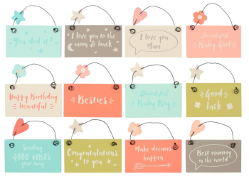 Tiny Keepsake Signs