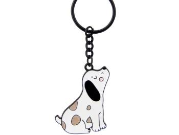 Barney the Dog Keyring