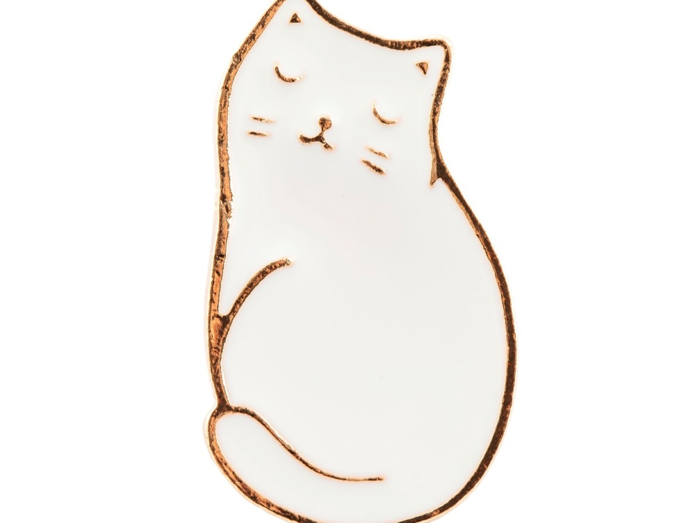 Cutie Cat Pin Badge