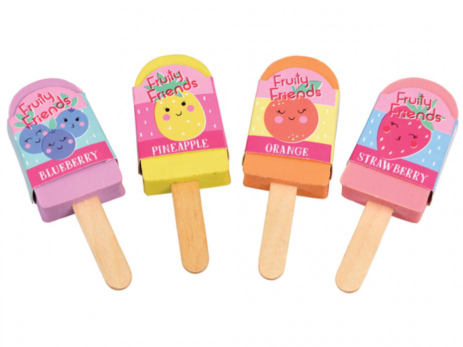 Fruit Scented Lolly Eraser
