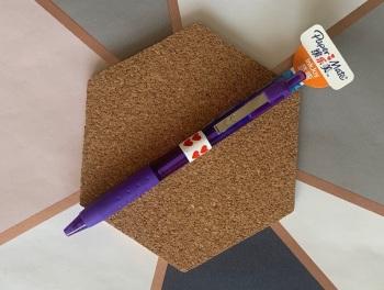 Papermate Inkjoy Purple Ballpoint Pen
