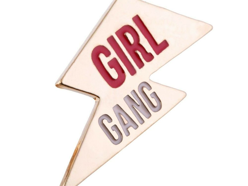 Girl Gang Pin Badge