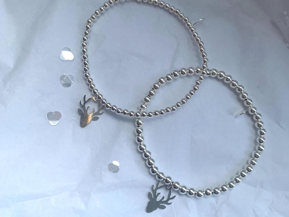 4mm Stag Stacking Bracelet