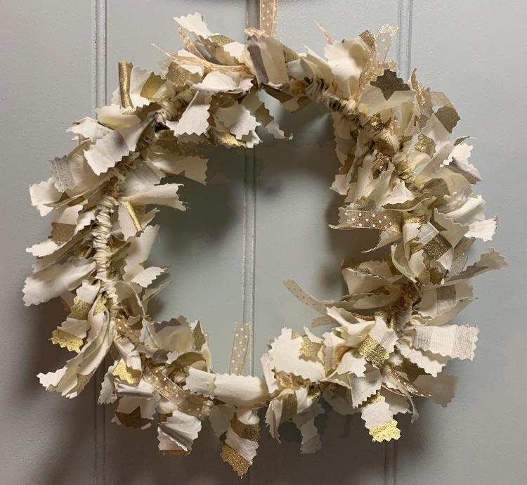 Christmas Fabric Wreaths