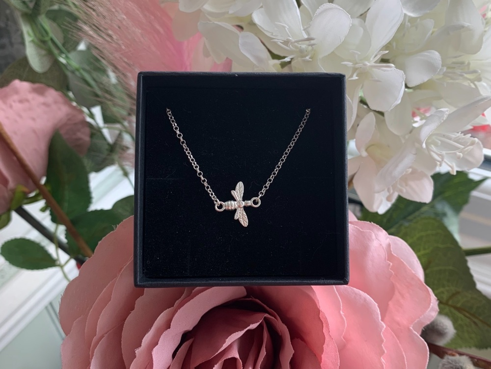 Bee Link Sterling Silver Necklace