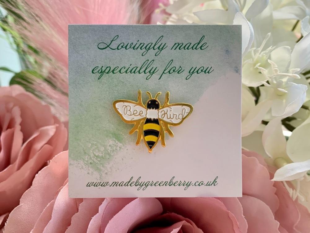 Bee Kind Pin Badge