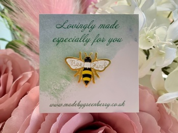 Bee Kind Pin Badge
