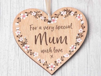For A Very Special Mum Heart