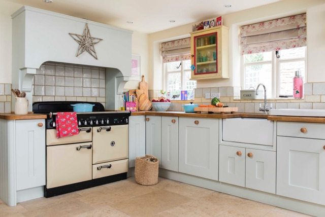 country kitchen design, shabby chic kitchen design,