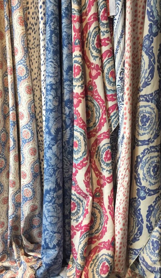 patterned fabric,bespoke curtains and blinds,bold patterned fabrics