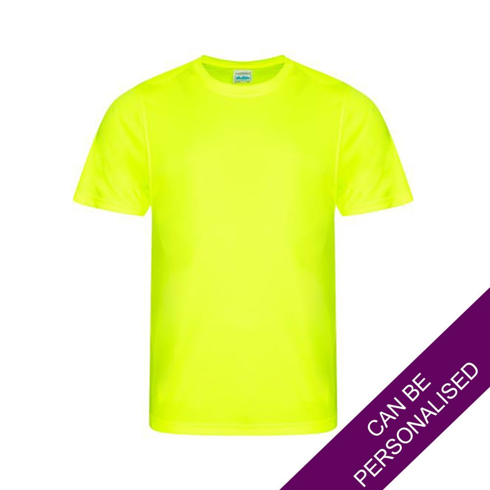Men's Hair Resistant T-Shirt - Yellow