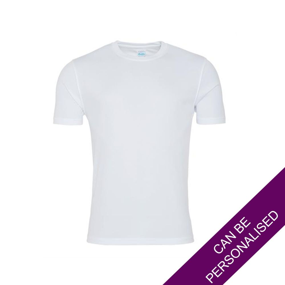 Men's Hair Resistant T-Shirt - White