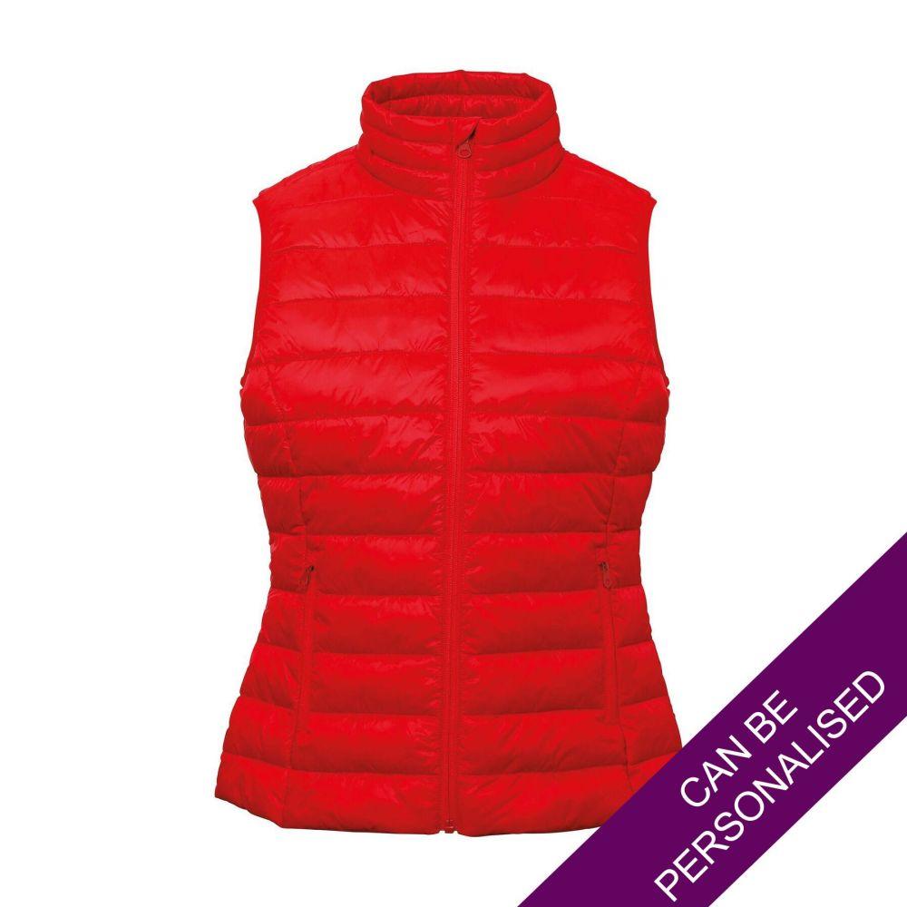Red Terrain Padded Bodywarmer