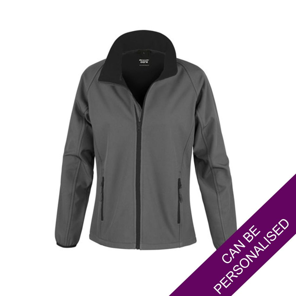 Grey Soft Shell Jacket