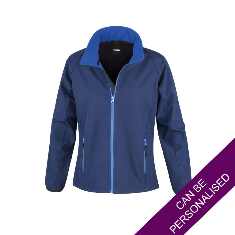 Navy & Royal Blue Soft Shell Jacket