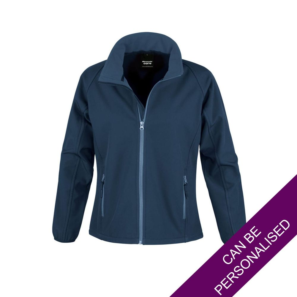Navy Soft Shell Jacket