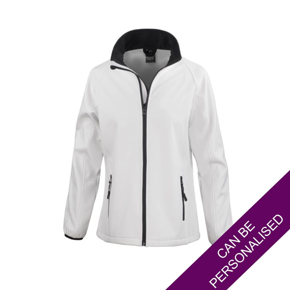 White Soft Shell Jacket
