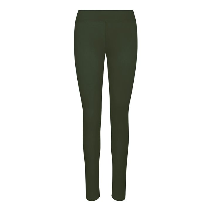 Women's Hair Resistant Leggings - Combat Green